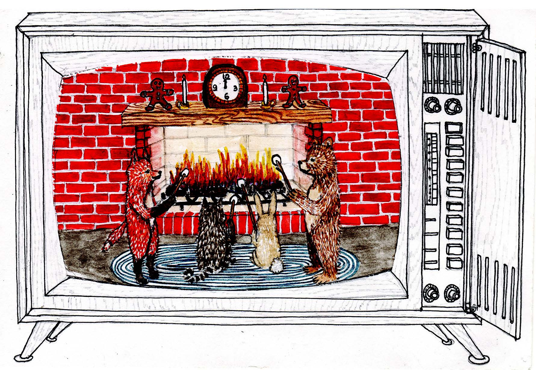 2019 Holiday Card Fireside Grand Prize