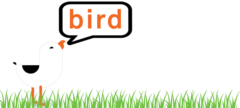 Bird is the Word Logo 2