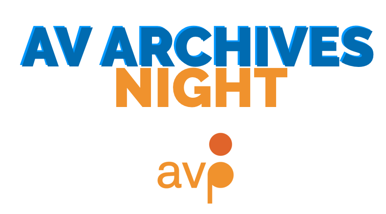 AV Archives Night logo - A Night of Audiovisual Storytelling