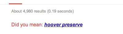 hoover preserve